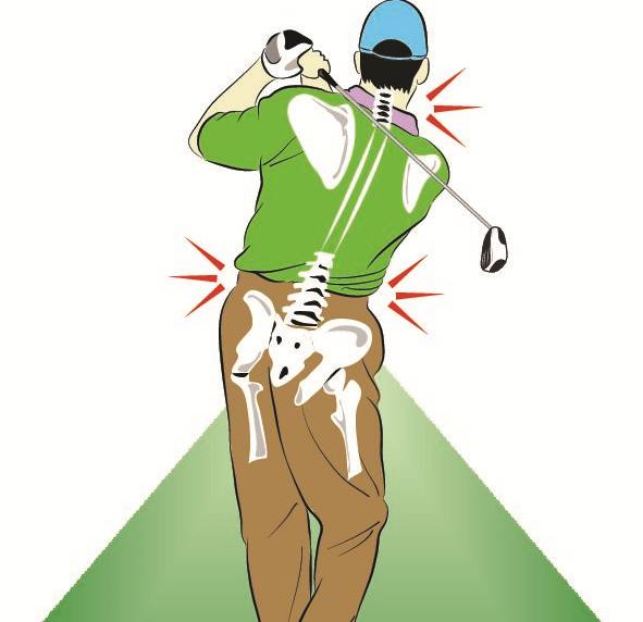 Image result for golf achy back