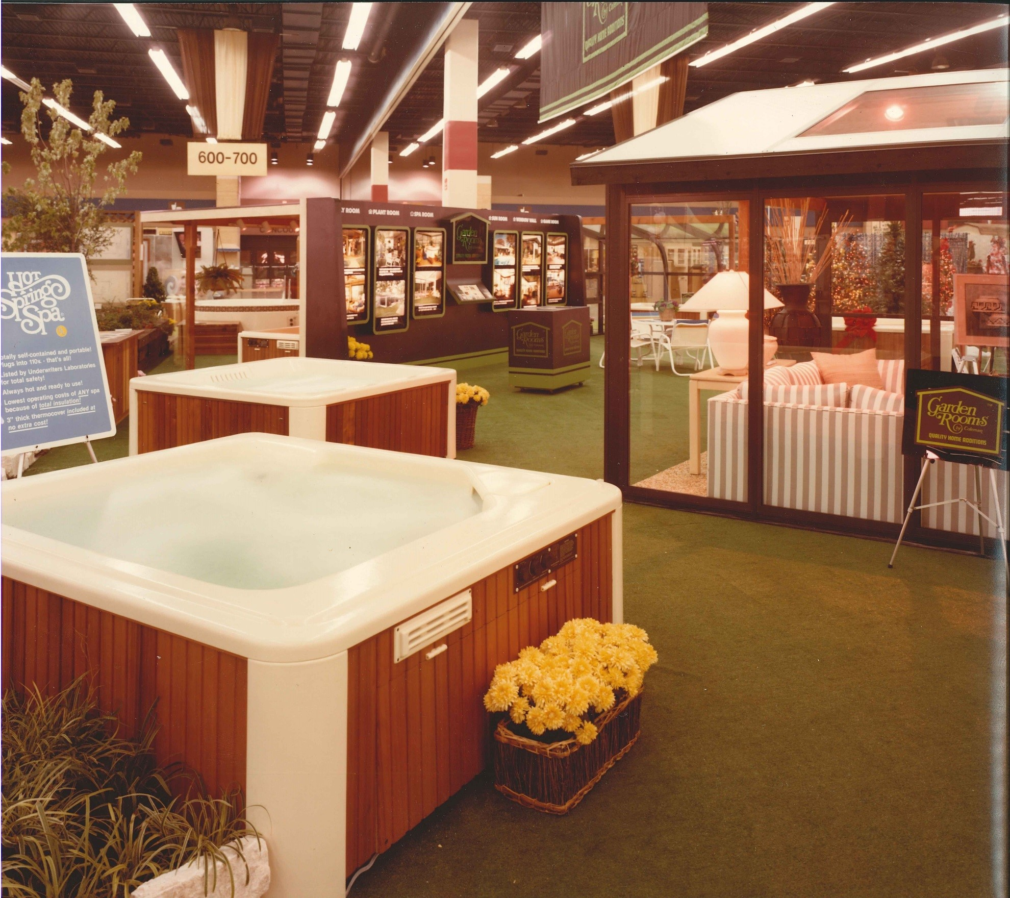Hot Spring spas and hot tubs in the 1980s