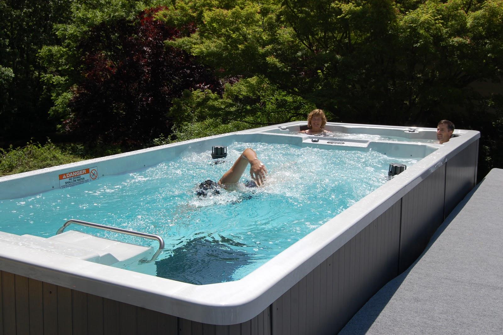 Image result for endless swim spa