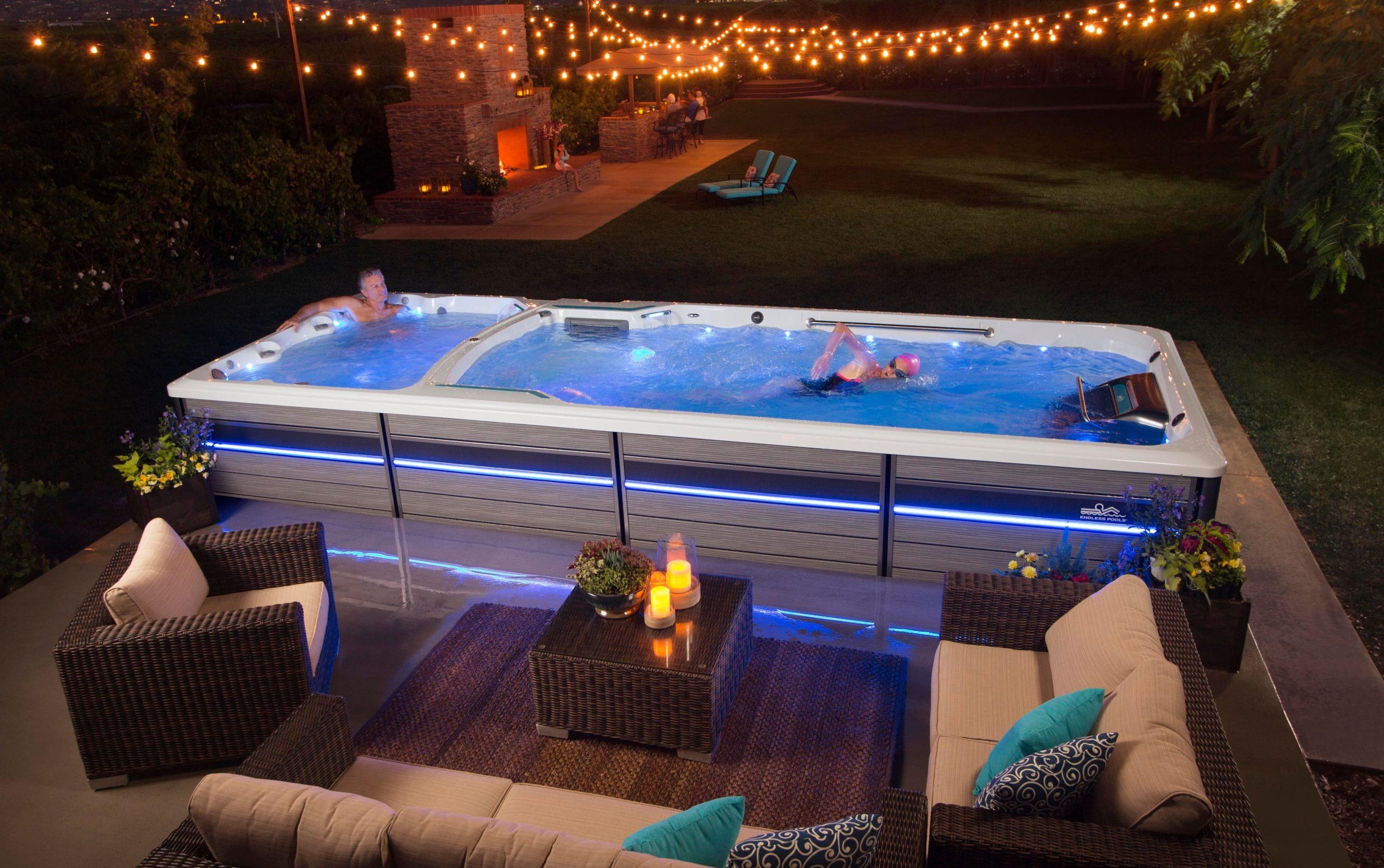 backyard Endless Pools Fitness System