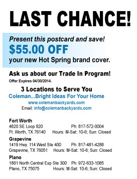 coupon from Coleman Bright Ideas for Your Home