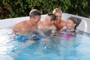 Swim Spa Exercises for the Whole Family