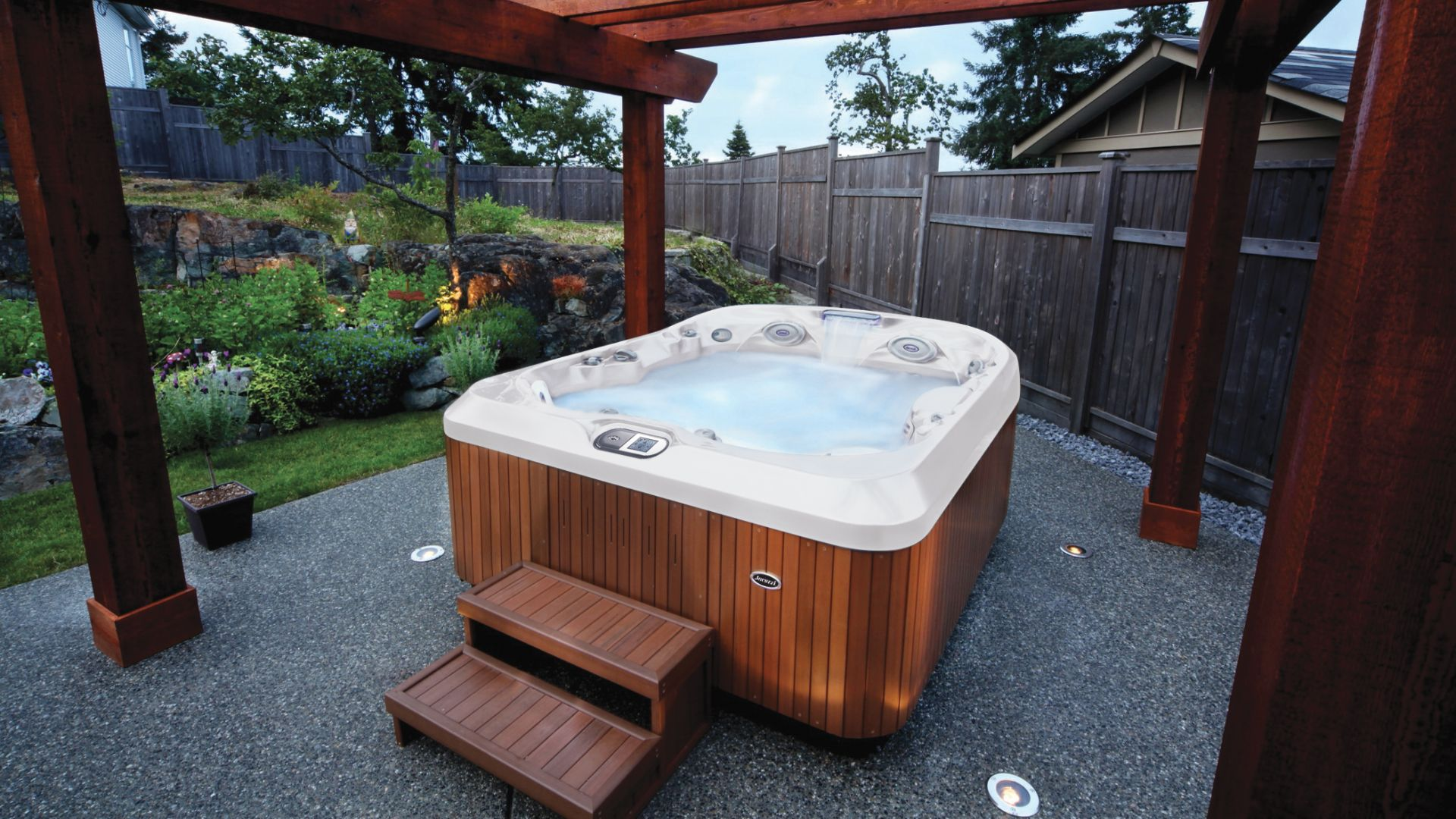 upgrade to a new hot tub