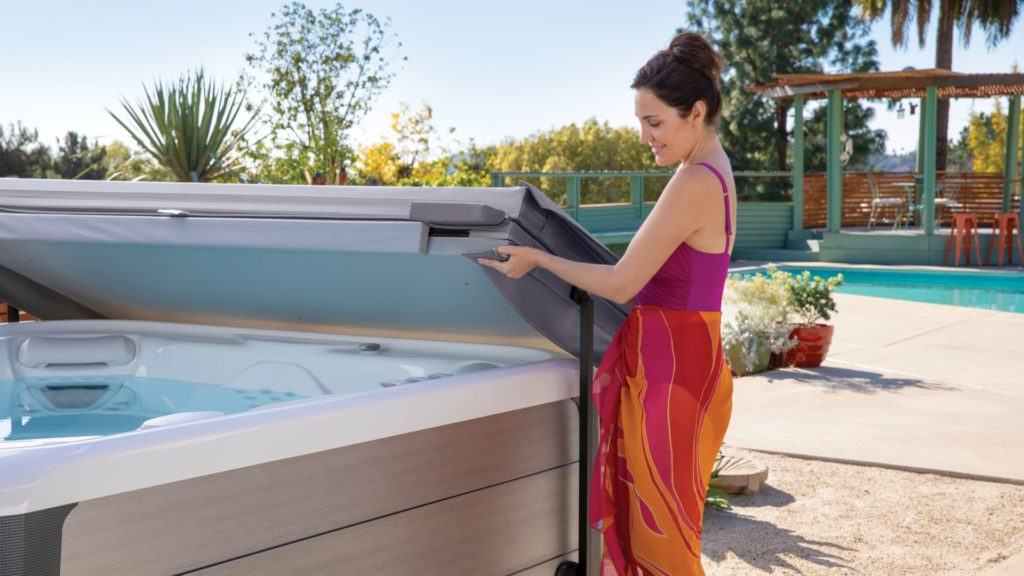 add sanitizers to your hot tub